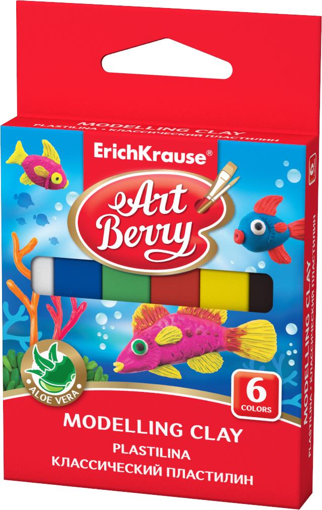 Erich Krause Пластилин Art Berry 6 цветов 41756 цена