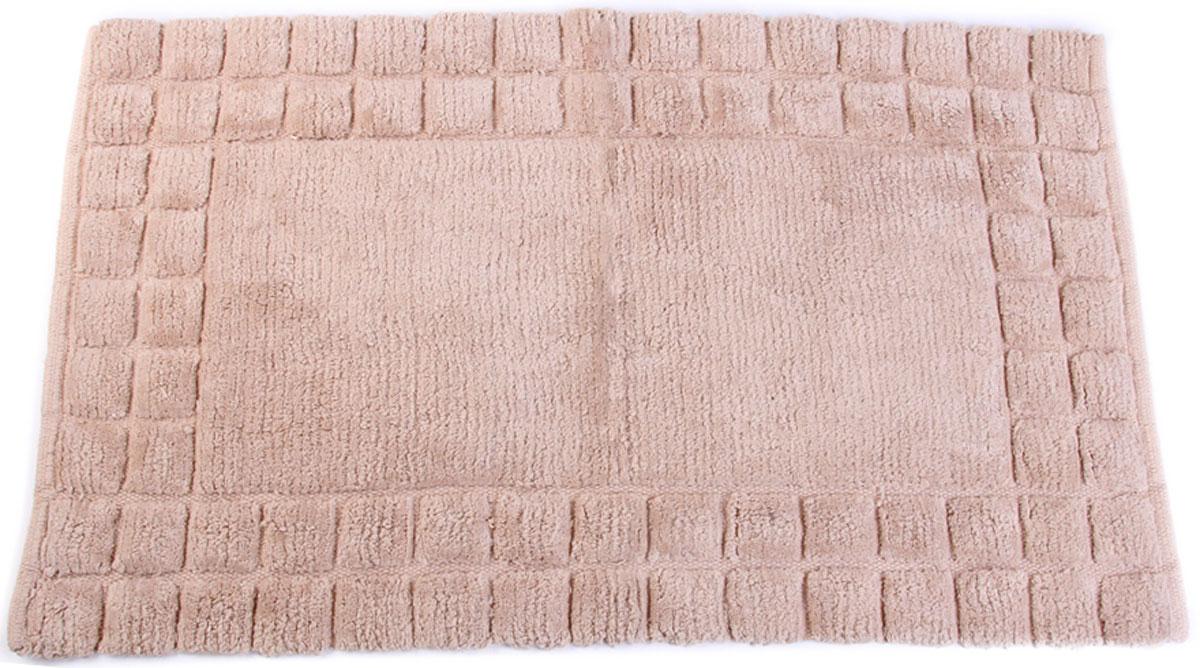 Коврик для ванной Arloni, самотканый, цвет: светло-розовый, 50 x 80 см. 204/7ARL коврик для ванной ikea 001 768 10