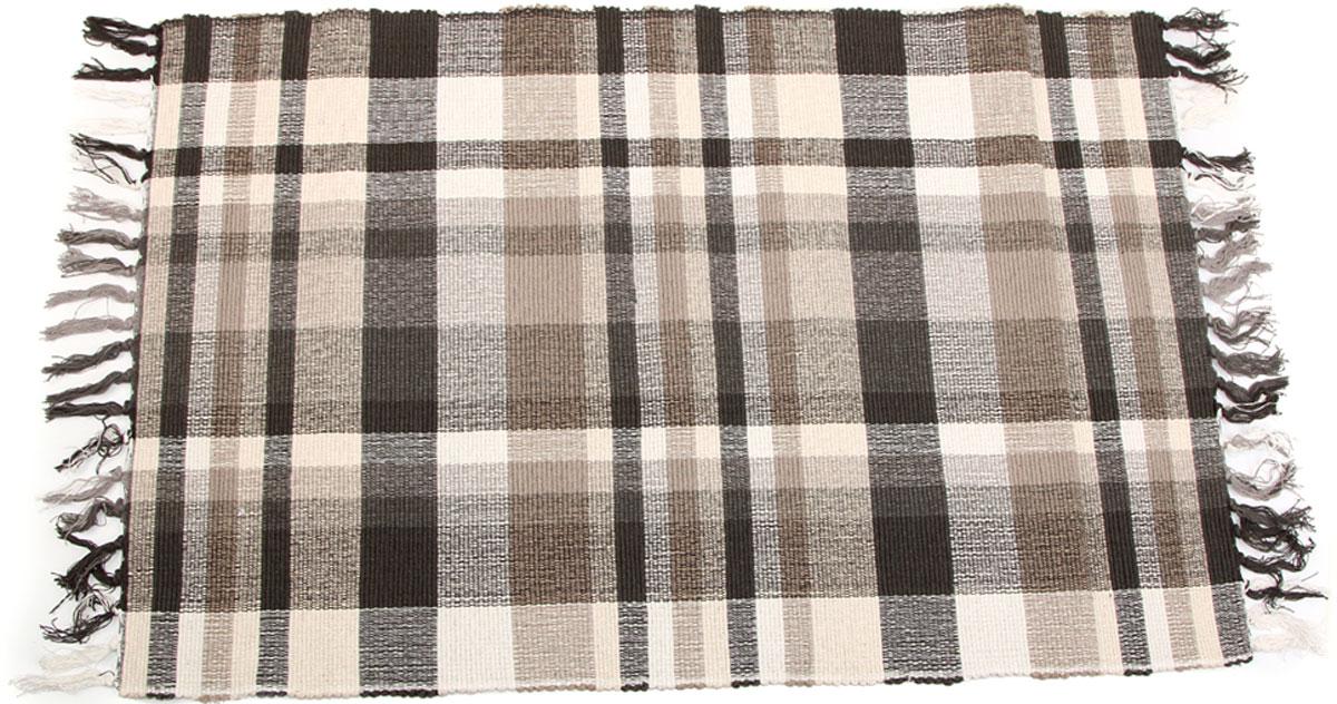 Коврик для ванной Arloni, самотканый, цвет: серый, 60 x 90 см. 102/18ARL102/18ARL
