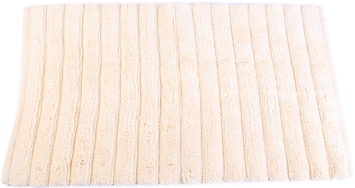 Коврик для ванной Arloni, самотканый, цвет: слоновая кость, 50 x 80 см. 202/4ARL202/4ARL