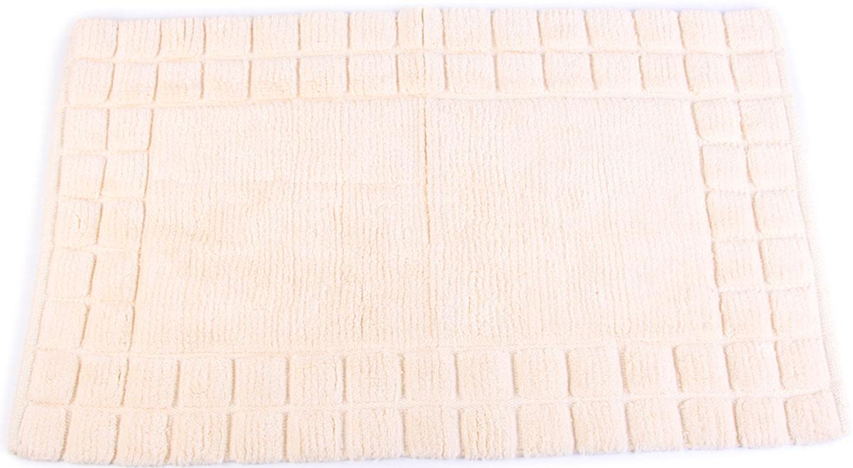 Коврик для ванной Arloni, самотканый, цвет: слоновая кость, 50 x 80 см. 204/4ARL204/4ARL