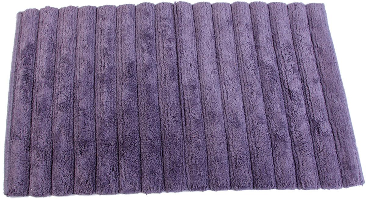 Коврик для ванной Arloni, самотканый, цвет: фиолетовый, 50 x 80 см. 202/2ARL202/2ARLСамотканый коврик для ванной Arloni выполнен из 100% хлопка. Коврик долго прослужит в вашем доме, добавляя тепло и уют, а такжевнесет неповторимый колорит в интерьер ванной комнаты.
