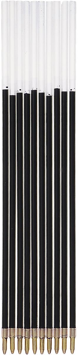Стамм Набор стержней для шариковой ручки цвет черный 0,7 мм 10 шт2951910Набор стержней шар (10шт) 152мм Стамм Corvina черный СТ24 (195715) 2951910