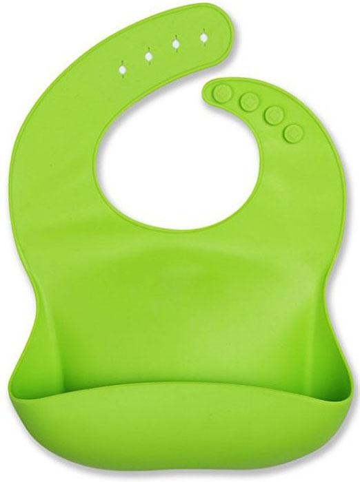 Fidget Go Нагрудник детский Счастливый малыш цвет салатовый