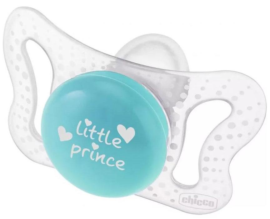 Chicco Пустышка силиконовая Micro Для принца силиконовая от 0 до 2 месяцев 2 шт пустышки chicco силиконовая 12 2 шт