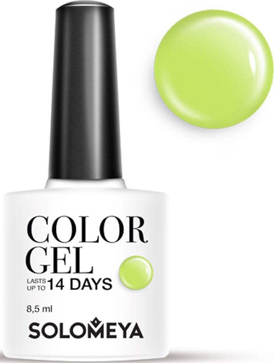 Solomeya Гель-лак Color Gel, тон Pistachio SCG166 (Фисташка), 8,5 мл08-1503Гель-лак Color Gel Solomeya - это широкая и постоянно обновляющаяся палитра оттенков и сенсационная стойкость до 21 дня. Он легко и равномерно наносится, не оставляя разводов, полос, пузырьков и проплешин. Каждый оттенок отличает высокой пигментированностью и насыщенностью. Не содержит толуол, растворители и отвердители.Как ухаживать за ногтями: советы эксперта. Статья OZON Гид