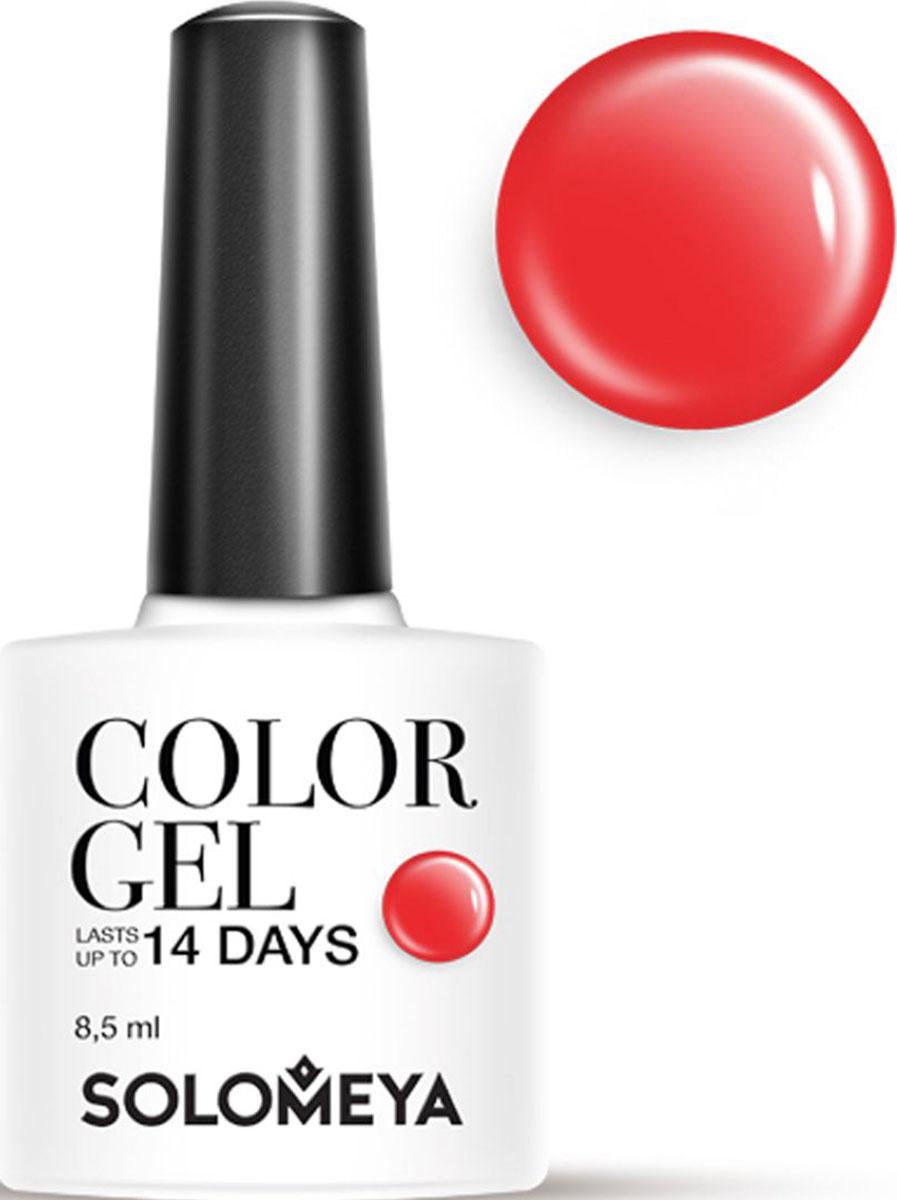 Solomeya Гель-лак Color Gel, тон Shiraz SCG153 (Шираз), 8,5 мл08-1510Гель-лак Color Gel Solomeya - это широкая и постоянно обновляющаяся палитра оттенков и сенсационная стойкость до 21 дня. Он легко и равномерно наносится, не оставляя разводов, полос, пузырьков и проплешин. Каждый оттенок отличает высокой пигментированностью и насыщенностью. Не содержит толуол, растворители и отвердители.Как ухаживать за ногтями: советы эксперта. Статья OZON Гид