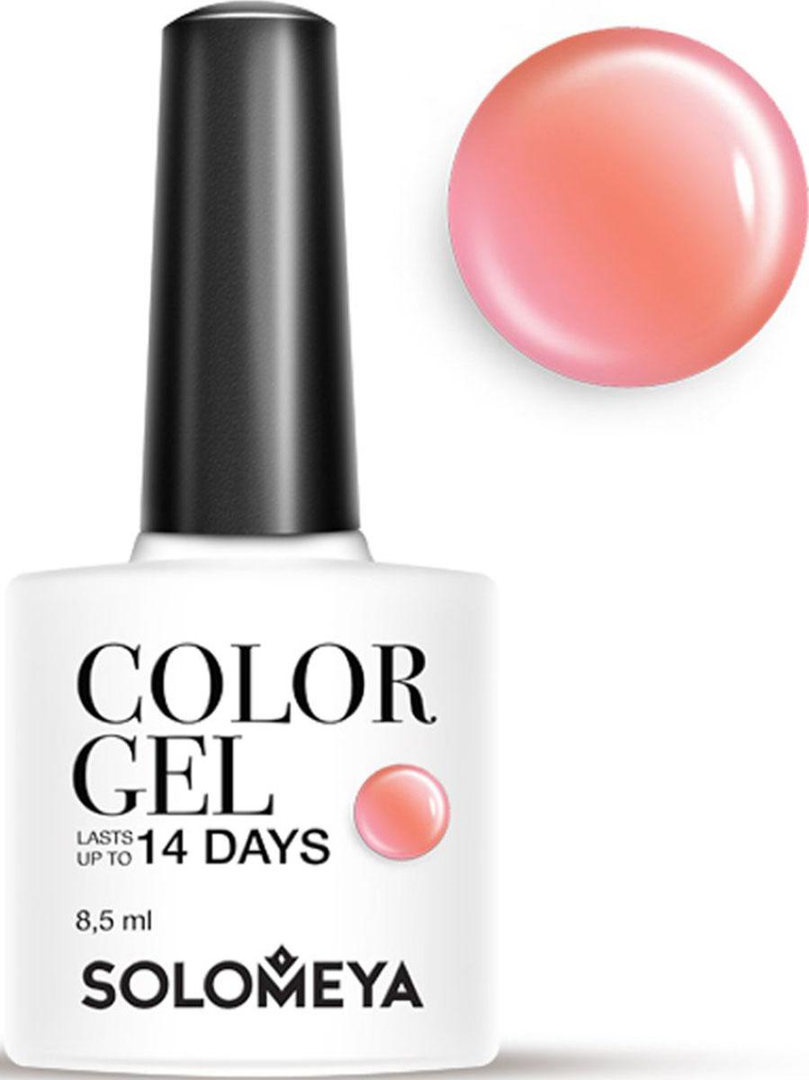 Solomeya Гель-лак Color Gel, тон Fudge SCG061 (Помадка), 8,5 мл08-1517Гель-лак Color Gel Solomeya - это широкая и постоянно обновляющаяся палитра оттенков и сенсационная стойкость до 21 дня. Он легко и равномерно наносится, не оставляя разводов, полос, пузырьков и проплешин. Каждый оттенок отличает высокой пигментированностью и насыщенностью. Не содержит толуол, растворители и отвердители.Как ухаживать за ногтями: советы эксперта. Статья OZON Гид