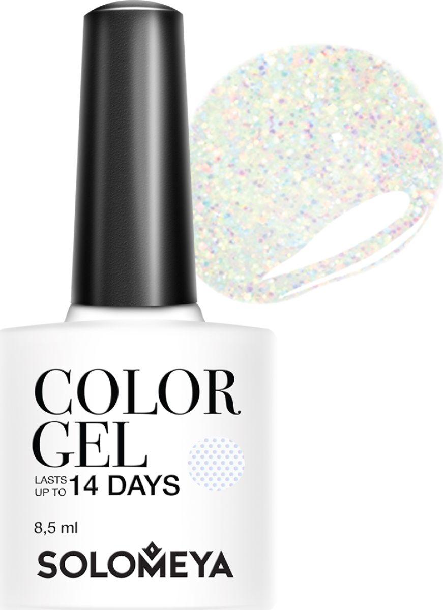 Solomeya Гель-лак Color Gel, тон Shine SCGK108 (Сверкай), 8,5 мл08-1585Гель-лак Color Gel Solomeya - это широкая и постоянно обновляющаяся палитра оттенков и сенсационная стойкость до 21 дня. Он легко и равномерно наносится, не оставляя разводов, полос, пузырьков и проплешин. Каждый оттенок отличает высокой пигментированностью и насыщенностью. Не содержит толуол, растворители и отвердители.Как ухаживать за ногтями: советы эксперта. Статья OZON Гид