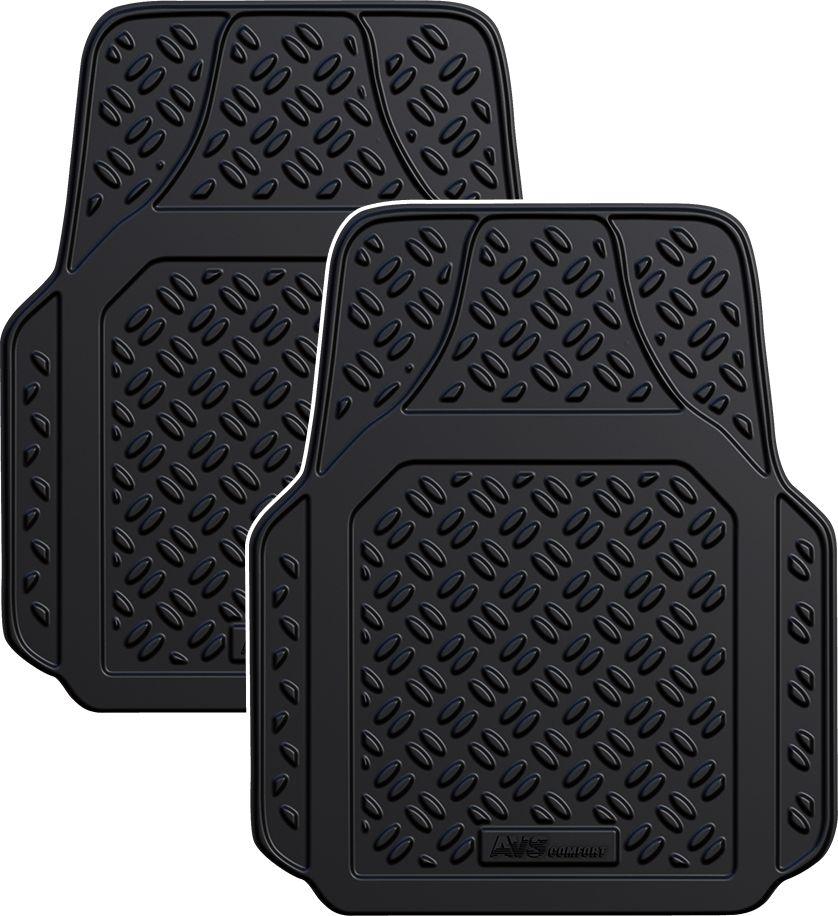 Набор автомобильных ковриков AVS, универсальный, передний, в салон, 2 предметаA78275SУниверсальные ковры в салон, благодаря линиям обрезки позволяют подогнать ковры под геометрию пола автомобиля. Высокий борт: 32 см. Материал: ТЕРМОЭЛАСТОПЛАСТ (ТЭП) - благодаря высокому содержанию каучука (до 55 %), более износоустойчивые по сравнению с резиновыми и полиуретановыми коврами других производителейПри температуре меньше -25 не «дубеют» .