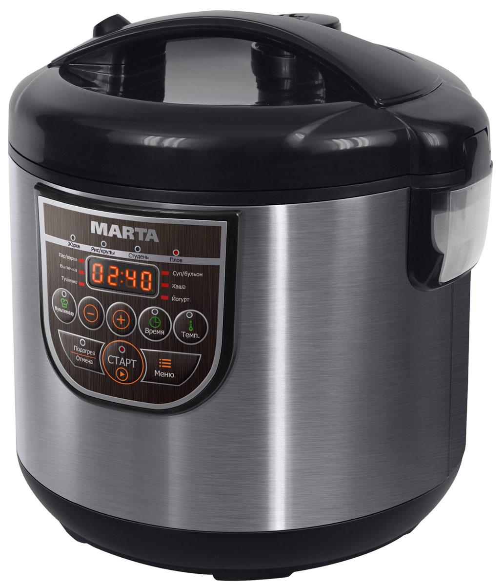 Marta MT-4324 CK2, Black Pearl мультиварка