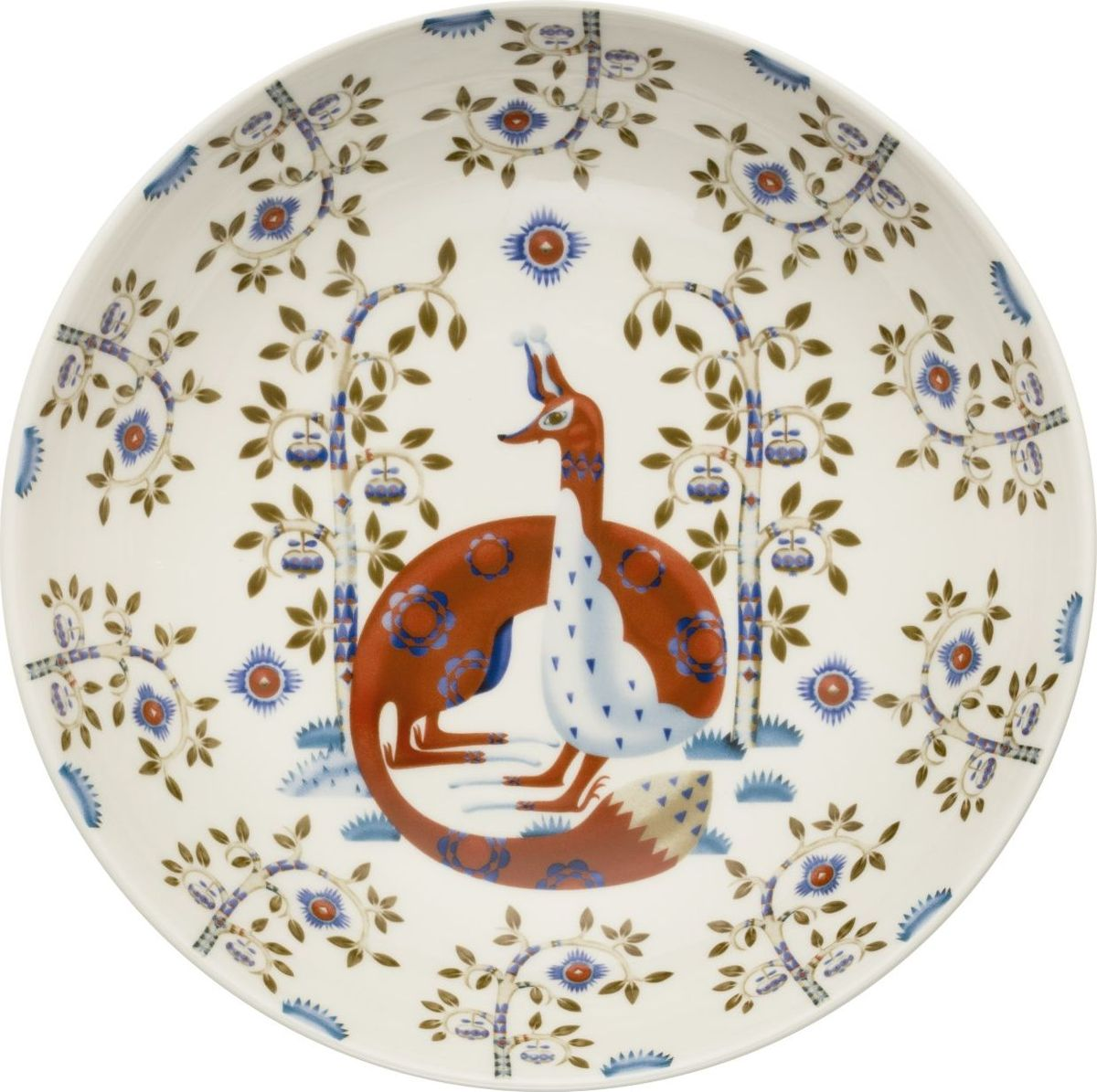 Тарелка глубокая Iittala Taika, цвет: белый, диаметр 22 см1022980На финском языке Taika означает «волшебство». Знаменитый финиский дизайнер и иллюстратор Klaus Haapaniemi хочет, чтобы его иллюстрации дали толчок вашему воображению. В сочетании с другими сериями Iittala, Taika позволяет прикоснуться к миру фантазии, впустить волшебство в нашу повседневную жизнь.