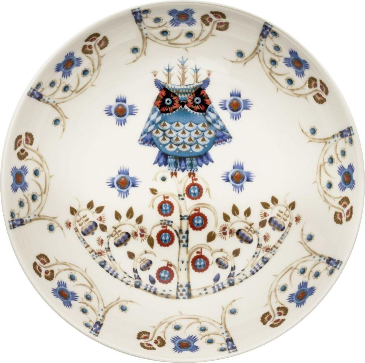 Тарелка глубокая Iittala Taika, цвет: белый, диаметр 20 см1023150На финском языке Taika означает «волшебство». Знаменитый финиский дизайнер и иллюстратор Klaus Haapaniemi хочет, чтобы его иллюстрации дали толчок вашему воображению. В сочетании с другими сериями Iittala, Taika позволяет прикоснуться к миру фантазии, впустить волшебство в нашу повседневную жизнь.