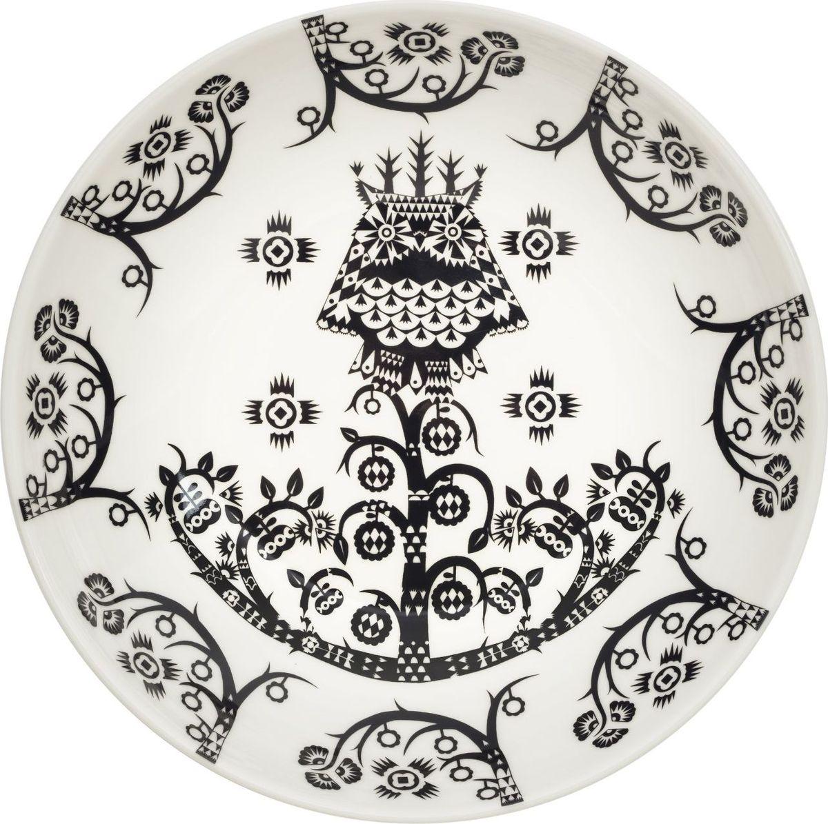 Тарелка глубокая Iittala Taika, цвет: черный, диаметр 20 см1023851Глубокая тарелка Iittala Taika выполнена из качественного жароустойчивогопрочного фарфора с долговечным стекловидным эмалевымпокрытием.Можно мыть в посудомоечной машине. Диаметр: 20 см.