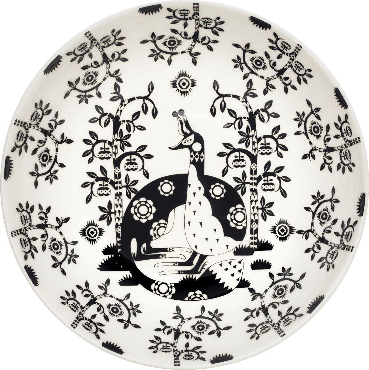 Тарелка глубокая Iittala Taika, цвет: черный, диаметр 22 см1023852На финском языке Taika означает «волшебство». Знаменитый финиский дизайнер и иллюстратор Klaus Haapaniemi хочет, чтобы его иллюстрации дали толчок вашему воображению. В сочетании с другими сериями Iittala, Taika позволяет прикоснуться к миру фантазии, впустить волшебство в нашу повседневную жизнь.