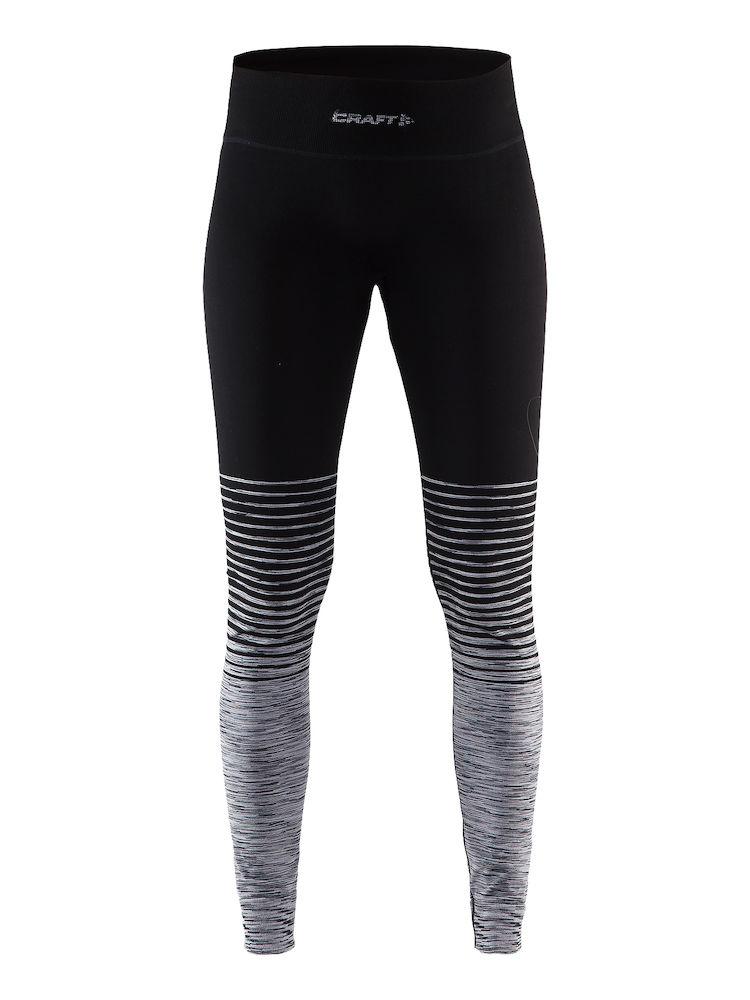 Термобелье брюки женские Craft Wool Comfort 2.0, цвет: черный. 1905343/999975. Размер XL (50)1905343/999975Мягкие кальсоны из смесовой шерсти, поддерживающие сухость, тепло и комфорт в любых условиях