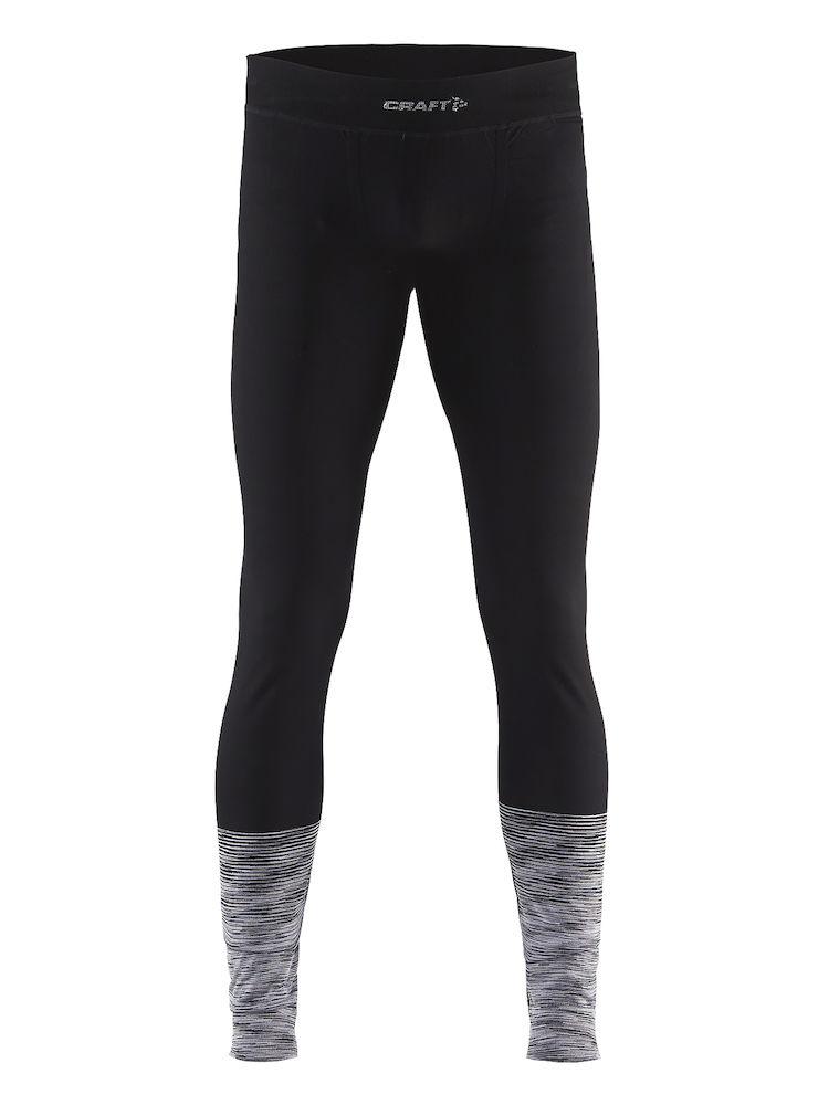 Термобелье брюки мужские Craft Wool Comfort 2.0, цвет: черный. 1905346/999975. Размер XXL (54) кальсоны мужские guahoo цвет серый бирюзовый g23 1600p gy tq размер xl xxl 54 56