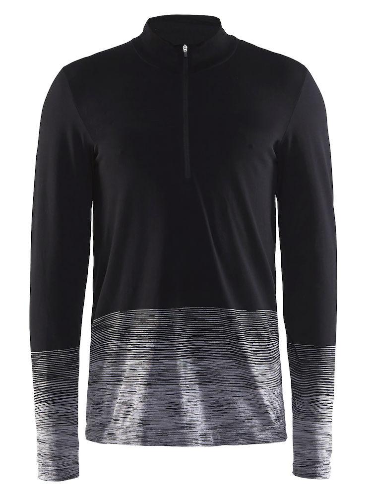 Термобелье кофта мужская Craft Wool Comfort 2.0, цвет: черный. 1905345/999975. Размер XXL (54)1905345/999975Мягкая рубашка из смесовой шерсти, поддерживающая сухость, тепло и комфорт в любых условиях.