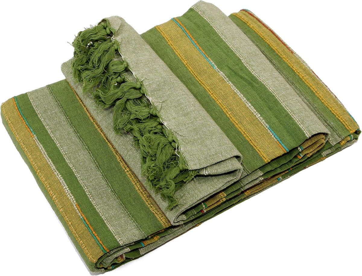 Покрывало Arloni, самотканое, 150 x 225 см. ТкП-101/24/1ARLТкП-101/24/1ARLПокрывало Arloni изготовлено из экологически чистого материала - 100% хлопка,поэтому подходит как для взрослых, так и для детей. Изделие, декорированноепринтом в полоску, прекрасно оформит интерьер гостиной или спальни. Оно будет хорошосмотреться и на диване, и на большой кровати. Покрывало Arloni не только подарит тепло,но и гармонично впишется винтерьер вашего дома.