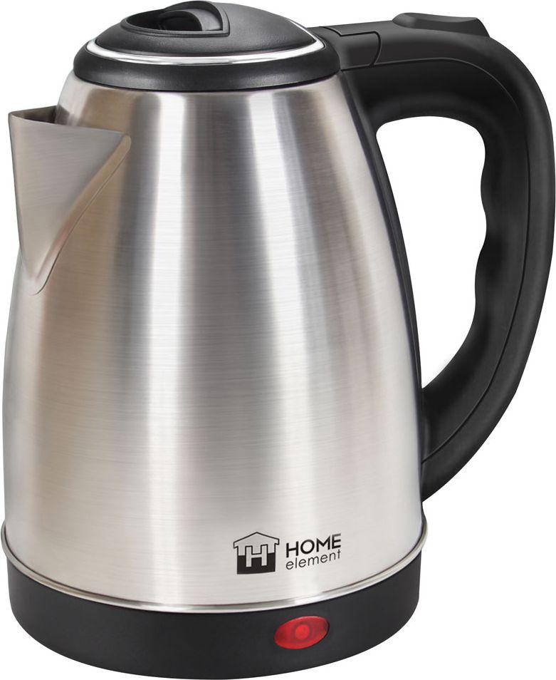 Home Element HE-KT151, Black чайник электрический футболка element made to endure ss r black