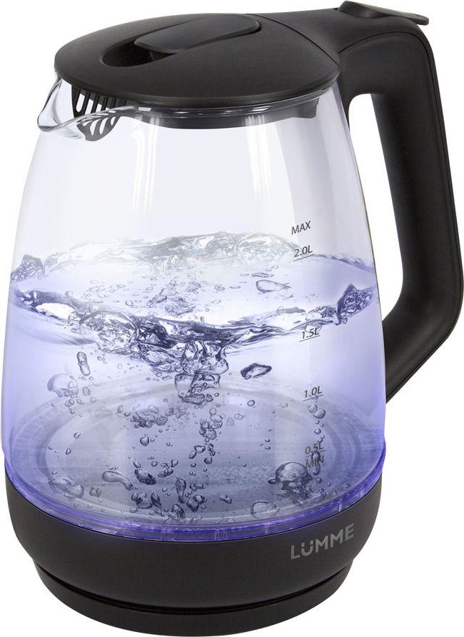 Lumme LU-140, Black Pearl чайник электрический электрический чайник lumme lu 218 dark zircon