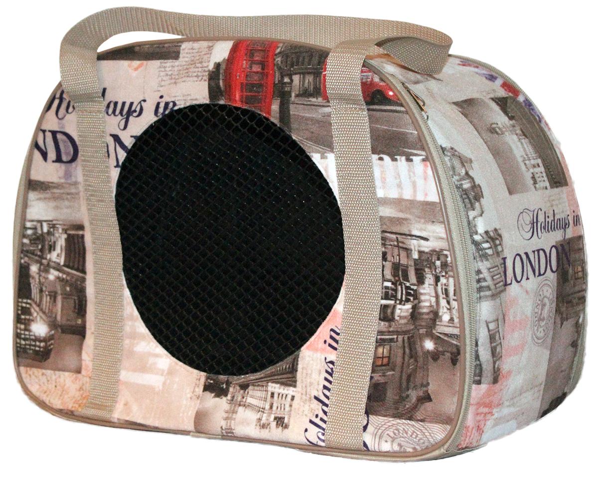 Сумка-переноска для животных Теремок, 45 х 22 х 30 смСПО-3Удобная и практичная сумка-переноска для собак и кошек. Практичная плотная ткань хорошо стирается. Твердое основание сумки не позволит животному провисать. В дверцу переноски вставлена сетка, чтобы животное могло дышать. Сумка для переноски небольших животных. Сеточка для вентиляции, умеренно длинные ручки для комфортного размещения на плече, небольшой открытый карман для мелочевки. Раскладывается для удобного хранения в плоском виде. Усиленное дно, прокладка вынимается.Прикольные переноски, которые наверняка понравятся питомцу. Статья OZON Гид