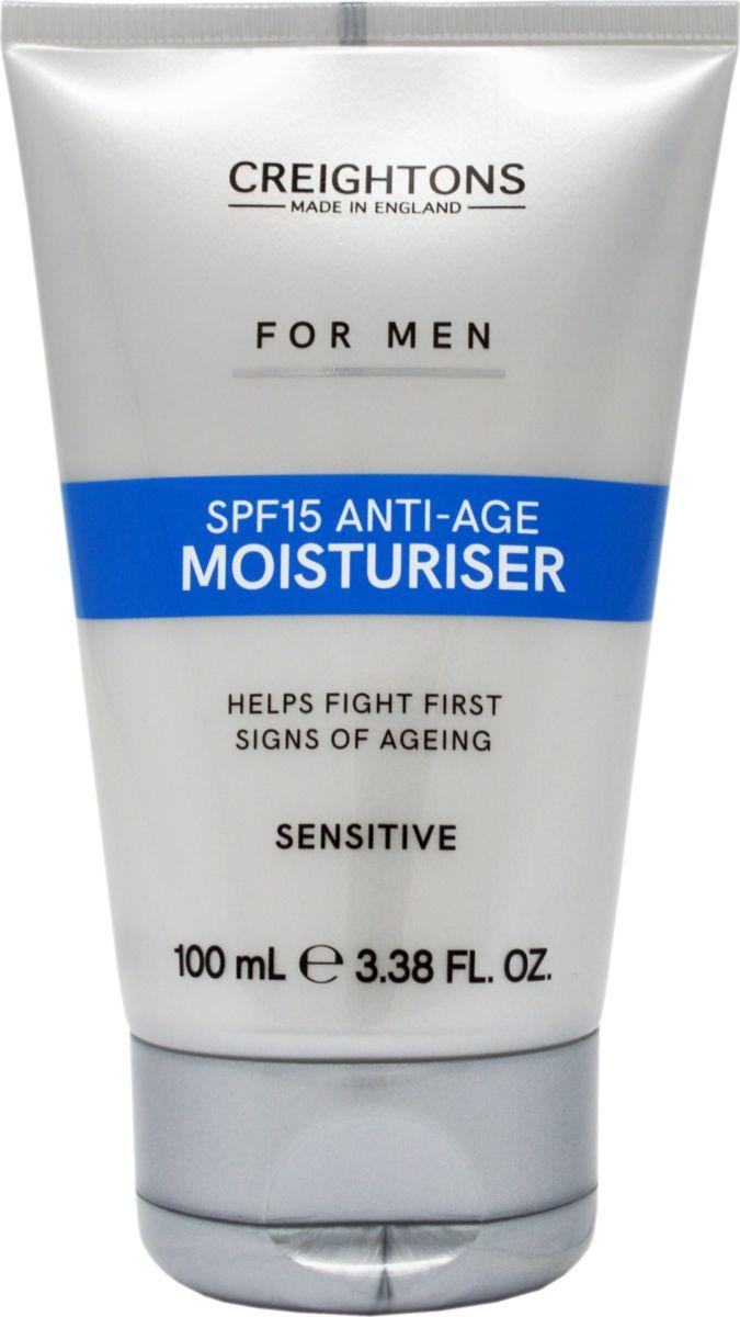 Creightons Антивозрастной крем для лица SPF 15, 100 млCN7593Защищает от негативного воздействия солнечных лучей. Борется с первыми проявлениями признаков старения. Содержит масло какао и жожоба. Увлажняет кожу, делая ее мягкой и эластичной