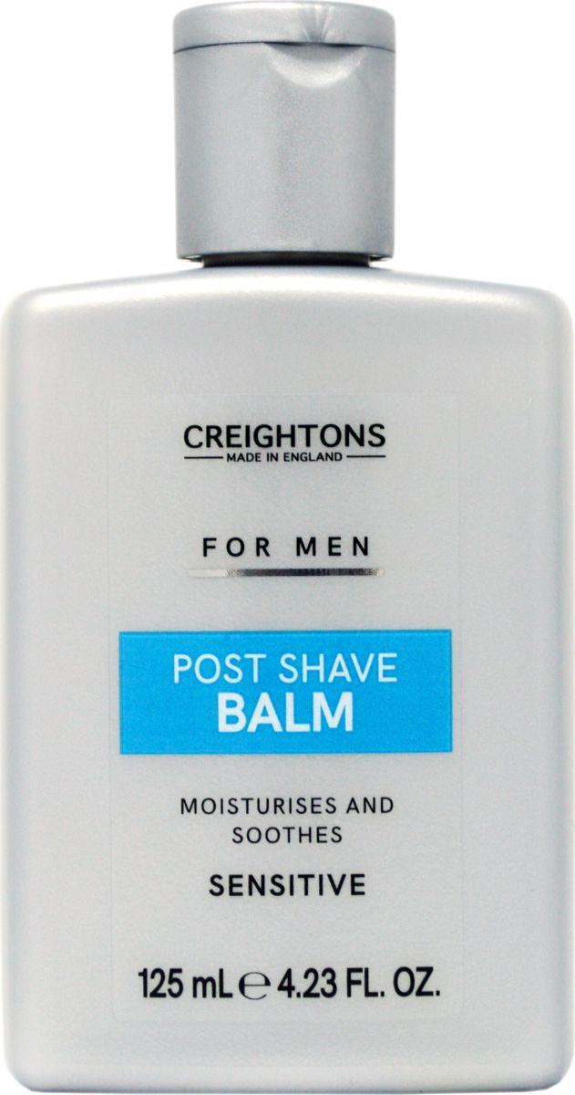 Creightons Бальзам после бритья, 125 млCN7599Содержит смесь миндального масла и масла какао. Восстанавливает влагу, питает и успокаивает кожу после бритья. ПОДХОДИТ ДЛЯ ЧУВСТВИТЕЛЬНОЙ КОЖИ. Протестировано дерматологами