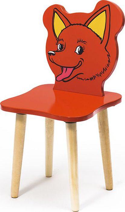 Крошка.RU Джери Стул детский Лисенок цвет красный -  Детская комната