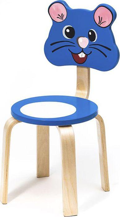 Выбирая своему ребенку стульчик из серии Мордочки, родители могут быть  уверены: теперь у вашего малыша появится приятель и игрушечный друг.  Стульчики станут непременными участниками всех игр и забав, им дети будут  доверять свои небольшие секреты. Выполненная из экологичных материалов Мышка, превратит детскую комнату в  настоящий живой уголок! Спинка и сидение стульчика сделаны из МДФ с высокой плотностью,  ножки - из гнутоклеенной фанеры. Для печати рисунка использован метод УФ- печати и краски НЦ (Ярославские краски).  В комплект к детскому стульчику прекрасно подойдет стол из этой серии.
