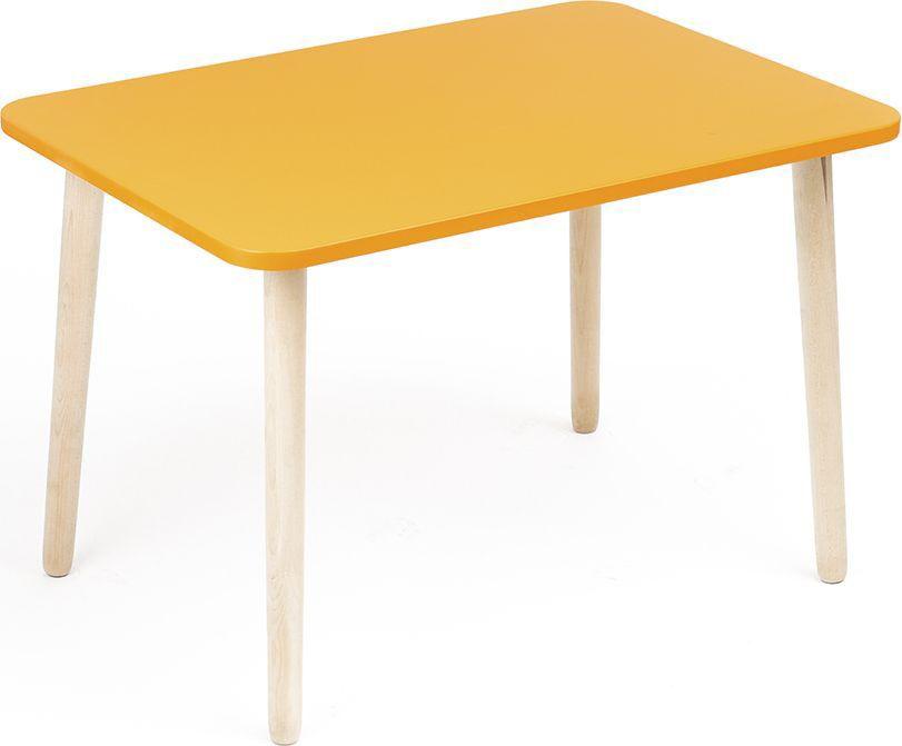 Детский стол Джери - это экологичный, яркий и очень удобный стол для игры и  творчества. Прекрасно сочетается со стульчиками из серии Джери. Стол легкий и  поэтому будет удобен в эксплуатации даже самыми маленькими детьми. Очень  долговечен. Столешница выполнена из крашеного МДФ, опоры детского столика -  из массива березы, что делает стол более экологичным. Стол нерегулируемый.  Размеры 500 х 700 х 460 мм. Предназначен для детей от 1,5 до 6 лет.