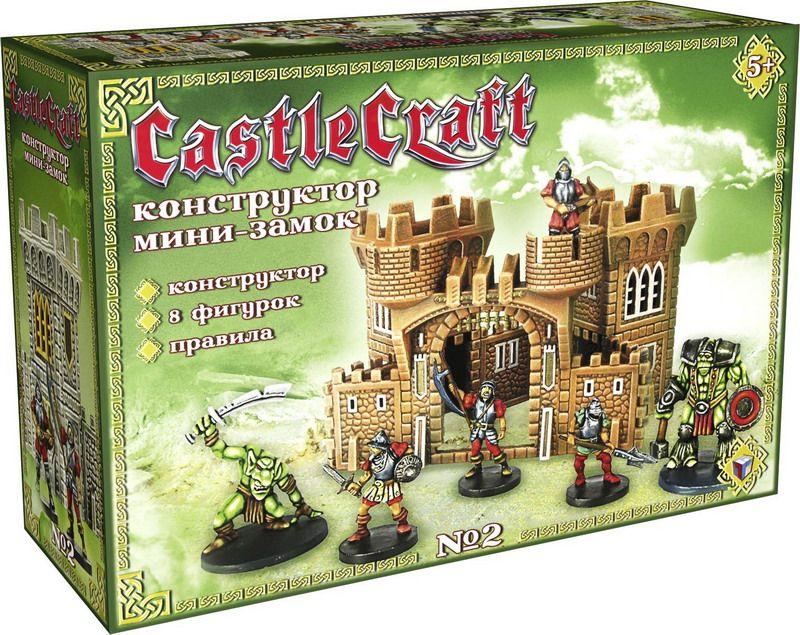Технолог Пластиковый конструктор Мини-замок № 2 замок для окон от детей купить