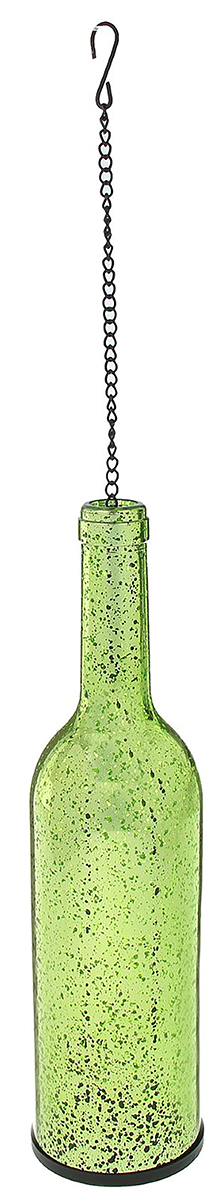 Подсвечник Бутылка, цвет: зеленый, 7,5 х 7,5 х 28,5 см699343Невозможно представить нашу жизнь без праздников! Мы всегда ждем их и предвкушаем, обдумываем, как проведем памятный день, тщательно выбираем подарки и аксессуары, ведь именно они создают и поддерживают торжественный настрой. — это отличный выбор, который привнесет атмосферу праздника в ваш дом!Известно, что на пламя можно смотреть вечно: его мягкое золотистое сияние проясняет сознание и чарует. Огонь свечи притягивает наше внимание еще больше. Он делает атмосферу загадочной и романтичной.