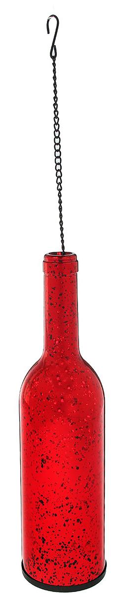 Подсвечник Бутылка, цвет: красный, 7,5 х 7,5 х 28,5 см2260804Невозможно представить нашу жизнь без праздников! Мы всегда ждем их и предвкушаем, обдумываем, как проведем памятный день, тщательно выбираем подарки и аксессуары, ведь именно они создают и поддерживают торжественный настрой. — это отличный выбор, который привнесет атмосферу праздника в ваш дом!Известно, что на пламя можно смотреть вечно: его мягкое золотистое сияние проясняет сознание и чарует. Огонь свечи притягивает наше внимание еще больше. Он делает атмосферу загадочной и романтичной.