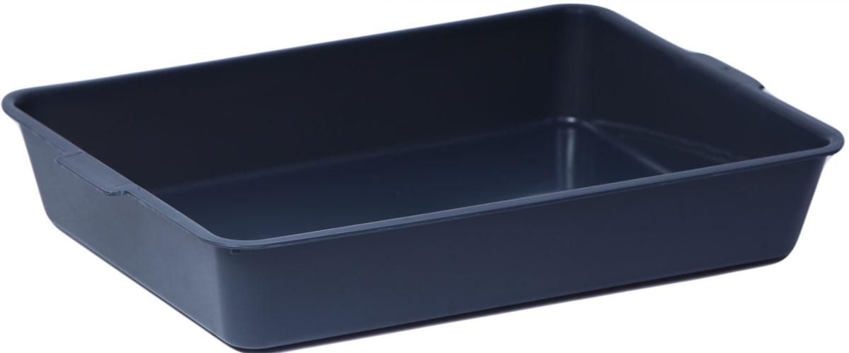 Туалет для кошек, цвет: темно-серый, 31 x 43,5 x 7,5 см. CAT-L03 Grey туалет для кошек бергамо средний 45х35х10 см
