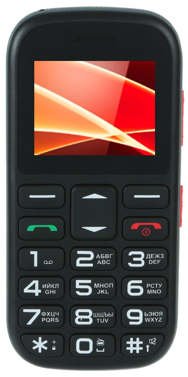 Vertex C305, Black Orange - Мобильные телефоны
