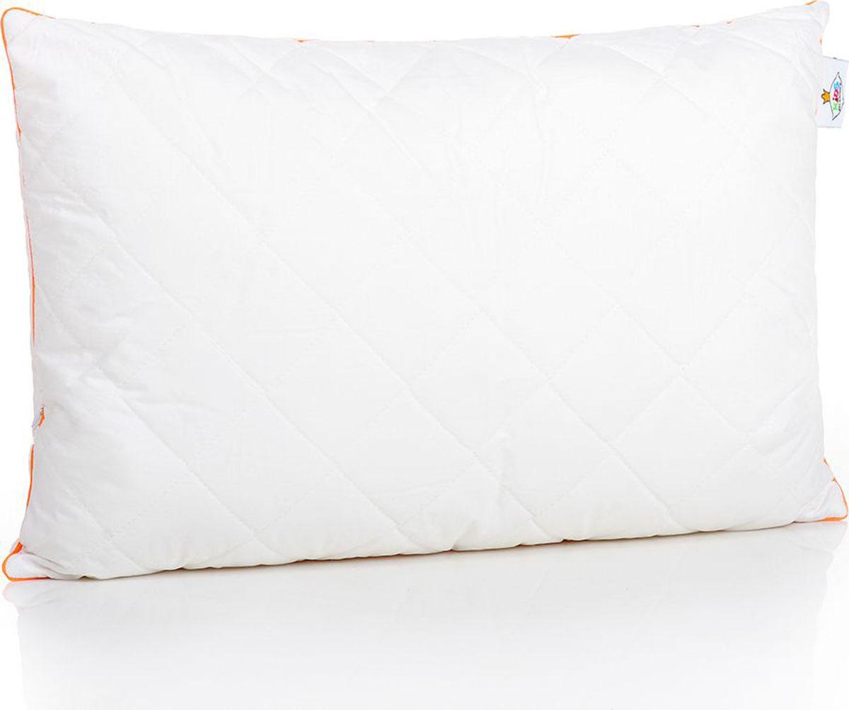 Belashoff Kids Подушка детская Наша Гордость цвет белый 40 x 60 смКХП2Коллекция Наша Гордость – качественные продукты для спокойного детского сна! Ткань верха – перкаль (100% хлопковая ткань) белая, как цветок хлопка.Внутри – пласты натурального хлопкового волокна, которое хорошо впитывает лишнюю влагу и выводит ее на поверхность, гипоаллергенно.В подушки (40х40, 40х60 и 50х70) для большей упругости и мягкости мы добавили полое силиконизированное волокно. Это современный очень нежный наполнитель, который безопасен для детей.Наличие молнии в подушках позволяет регулировать степень упругости и поддержки самостоятельно.