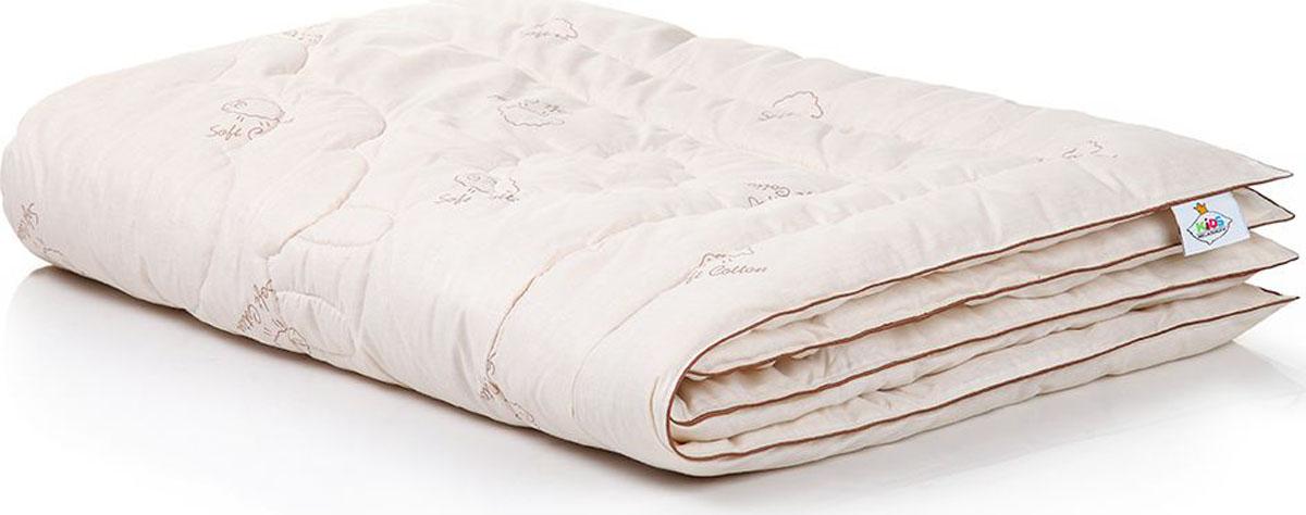 """Коллекция """"Наше Сокровище"""" – замечательные продукты для уютного детского сна!Ткань верха – натуральная хлопковая ткань с забавными овечками.Внутри – пласты шерстяных волокон, которые обеспечивают прекрасную циркуляцию воздуха и создают оптимальные климатические условия во время сна."""