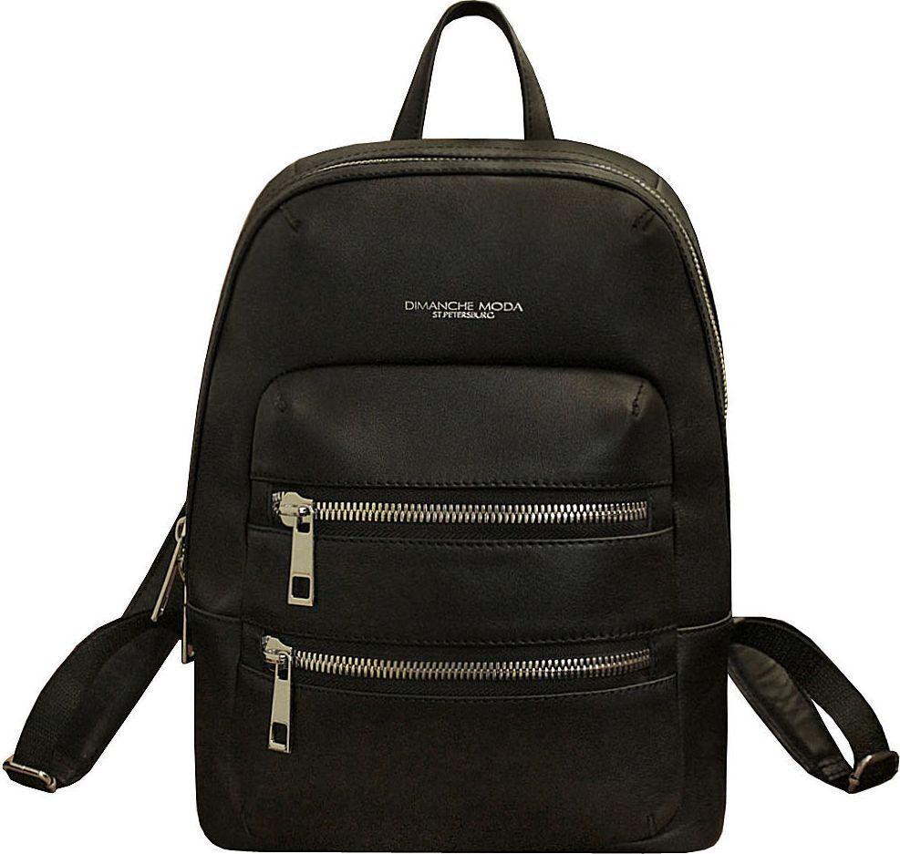 Рюкзак женский Dimanche Байкер, цвет: черный. 269/1S сумка dimanche dimanche di042bwydz35