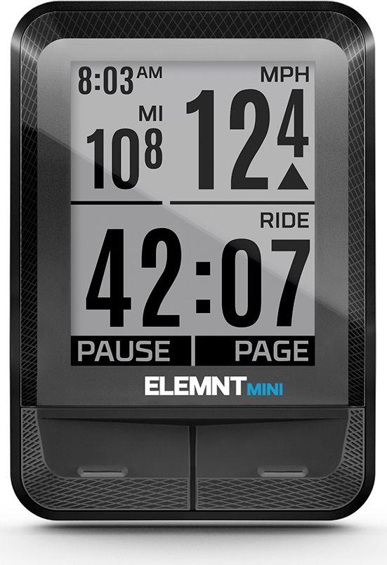 Велокомпьютер Wahoo Elemnt Mini пульсометр wahoo tickr heart rate monitor wfbthr02 wfbthr02z