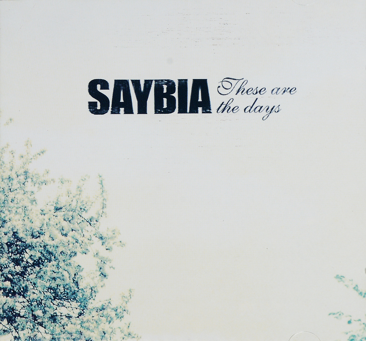 Saybia SAYBIA. THESE ARE THE DAYS these days are ours