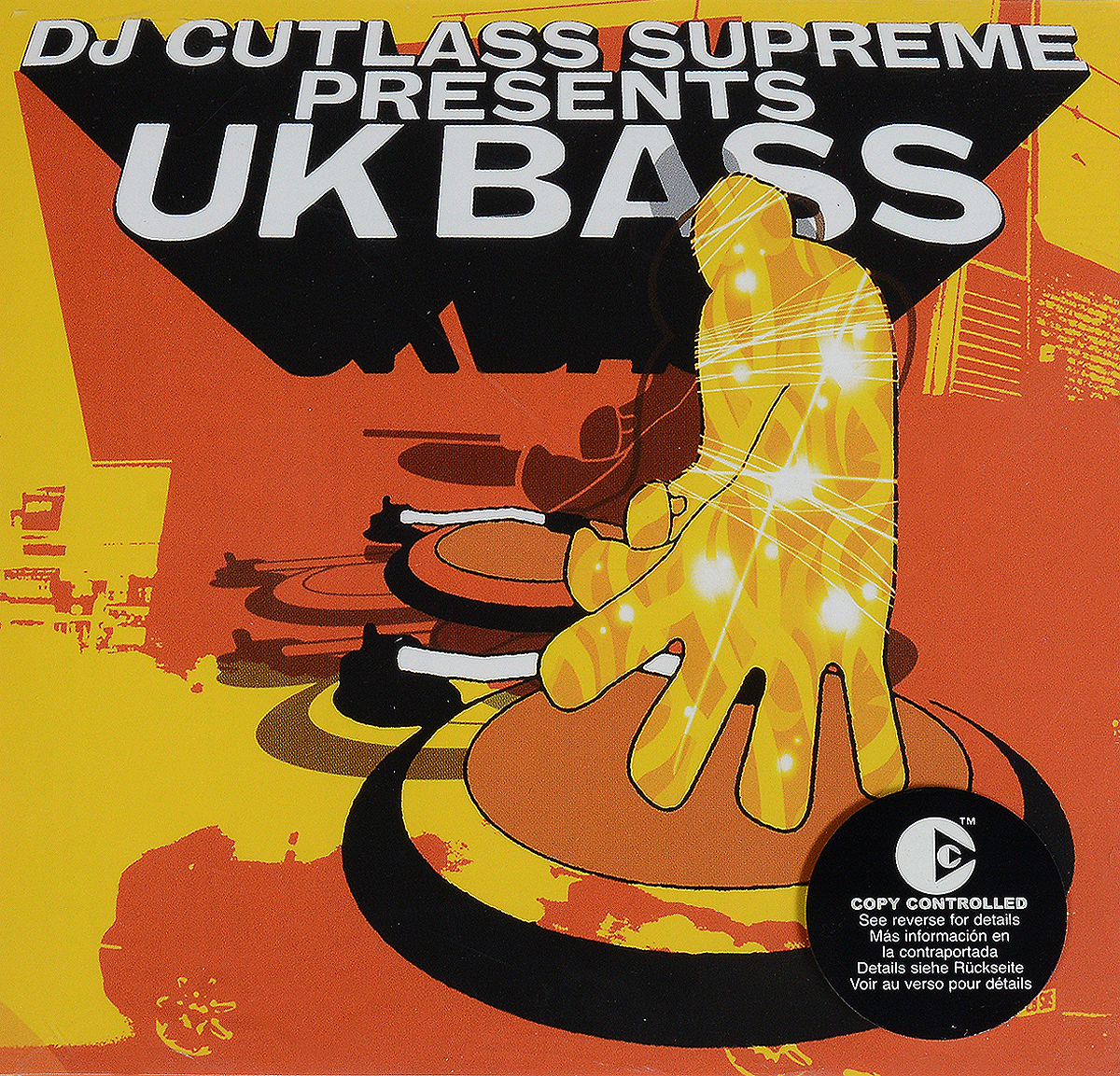 VARIOUS ARTISTS. DJ CUTLASS SUPREME PRESENTS UK BASS various artists dj cutlass supreme presents uk bass