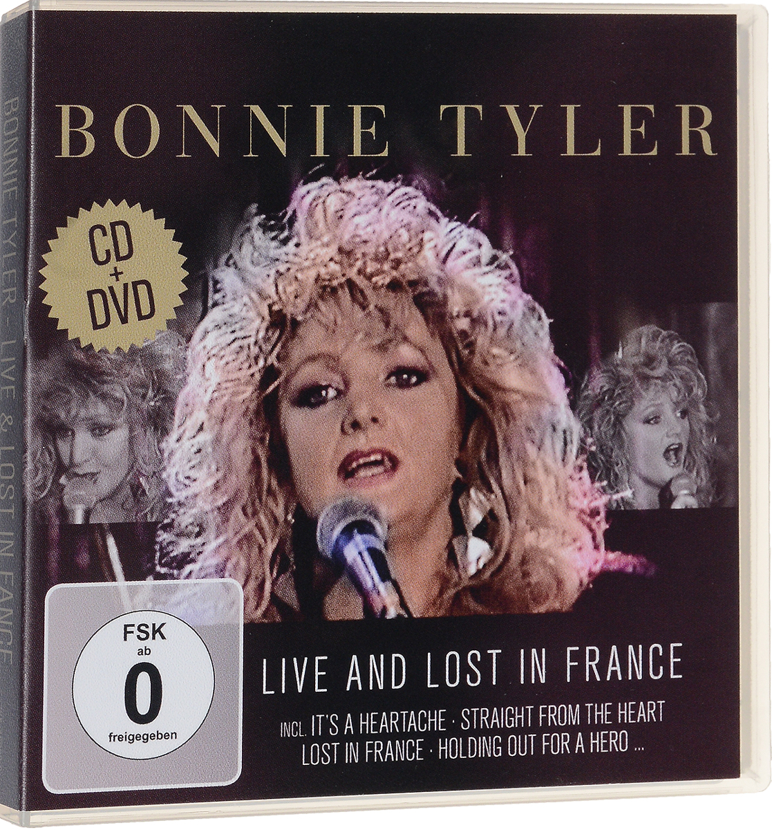Bonnie Tyler: Live and Lost in France (CD + DVD)