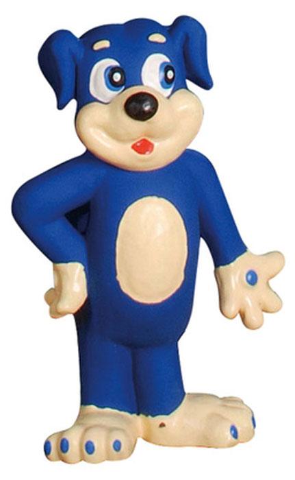 Игрушка для собак Camon Песик, цвет: синий, 20 смA050/H