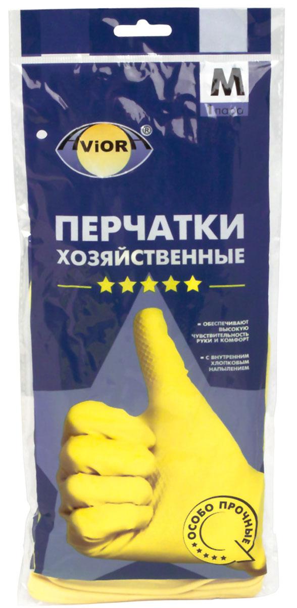 Перчатки хозяйственные Aviora, резиновые, 5 звезд, размер 8 (M)402-702Высокая чувствительность руки Анатомическая формаВнутреннее хлопковое напылениеПовышенная плотностьПредназначены для защиты рук во время домашней уборки,строительных работ. Перчатки Aviora препятствуют вредному воздействию бытовых химическихсредств, пищевых жиров и грязи на кожу рук.