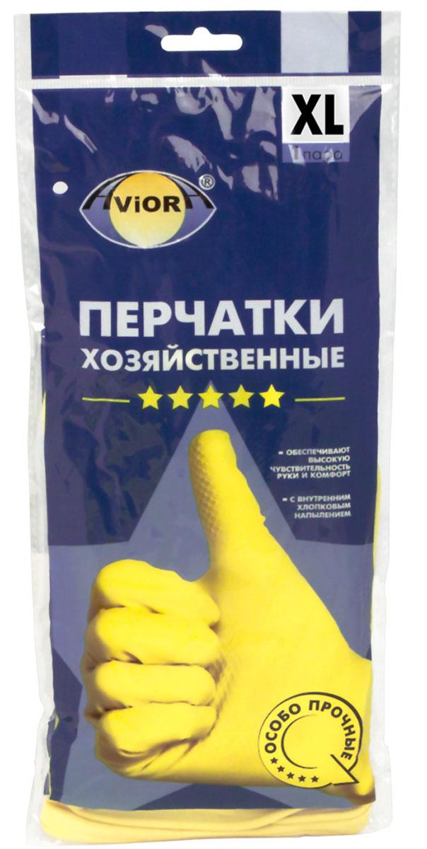 Перчатки хозяйственные Aviora, резиновые, 5 звезд, размер 10 (XL)402-704Высокая чувствительность руки Анатомическая формаВнутреннее хлопковое напыление Повышенная плотностьПредназначены для защиты рук во время домашней уборки, строительных работ. Перчатки Aviora препятствуют вредному воздействию бытовых химических средств, пищевых жиров и грязи на кожу рук.