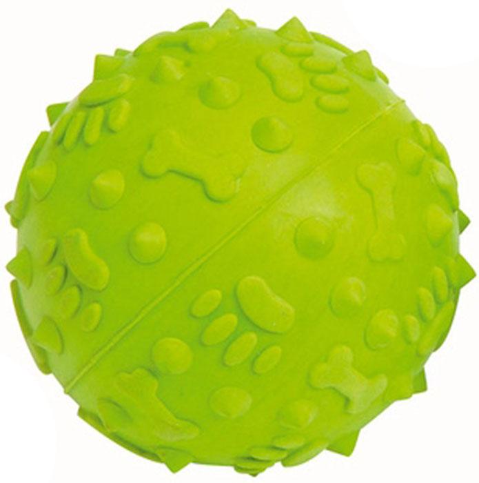 Мяч для собак Camon Зеленое яблоко, диаметр 8 смAD008/CИгрушка Camon Зеленое яблоко для собак - это супер прочная, супер безопасная и супер увлекательная игрушка. Мячик при бросании отскакивает по непредсказуемой траектории. Что обеспечивает часы веселья и удовольствия. Запатентованный материал и дополнительные массажные элементы гарантируют, что ваша собака будет наслаждаться игрой с мячом в течение длительного времени.