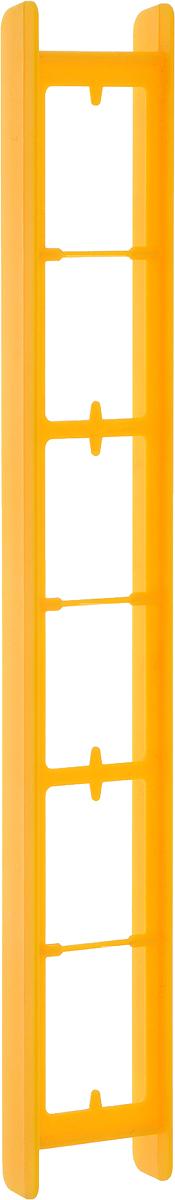 Мотовило AGP, цвет: оранжевый, 25 x 1,8 x 1,5 см мотовило agp для поводков с пружиной цвет желтый