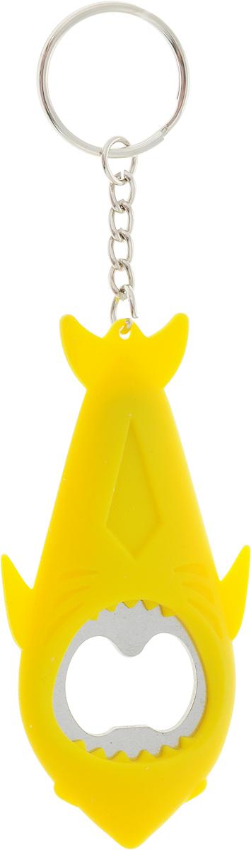 Открывашка Apollo Genio FishКА, цвет: желтый, 9 x 4,5 x 0,7 смFSK-01_рыбка желтаяОткрывашка для бутылок Apollo Genio FishКА, выполненная в форме акулы, являетсянезаменимым аксессуаром на любой кухне. Рабочая часть выполнена из высококачественнойнержавеющей стали, а удобный и яркий корпус изготовлен из мягкого силикона.Высококачественные материалы и качество исполнения обеспечивают комфортное идолговременное использование.Длина открывашки: 9 см.Не рекомендуется мыть в посудомоечной машине.