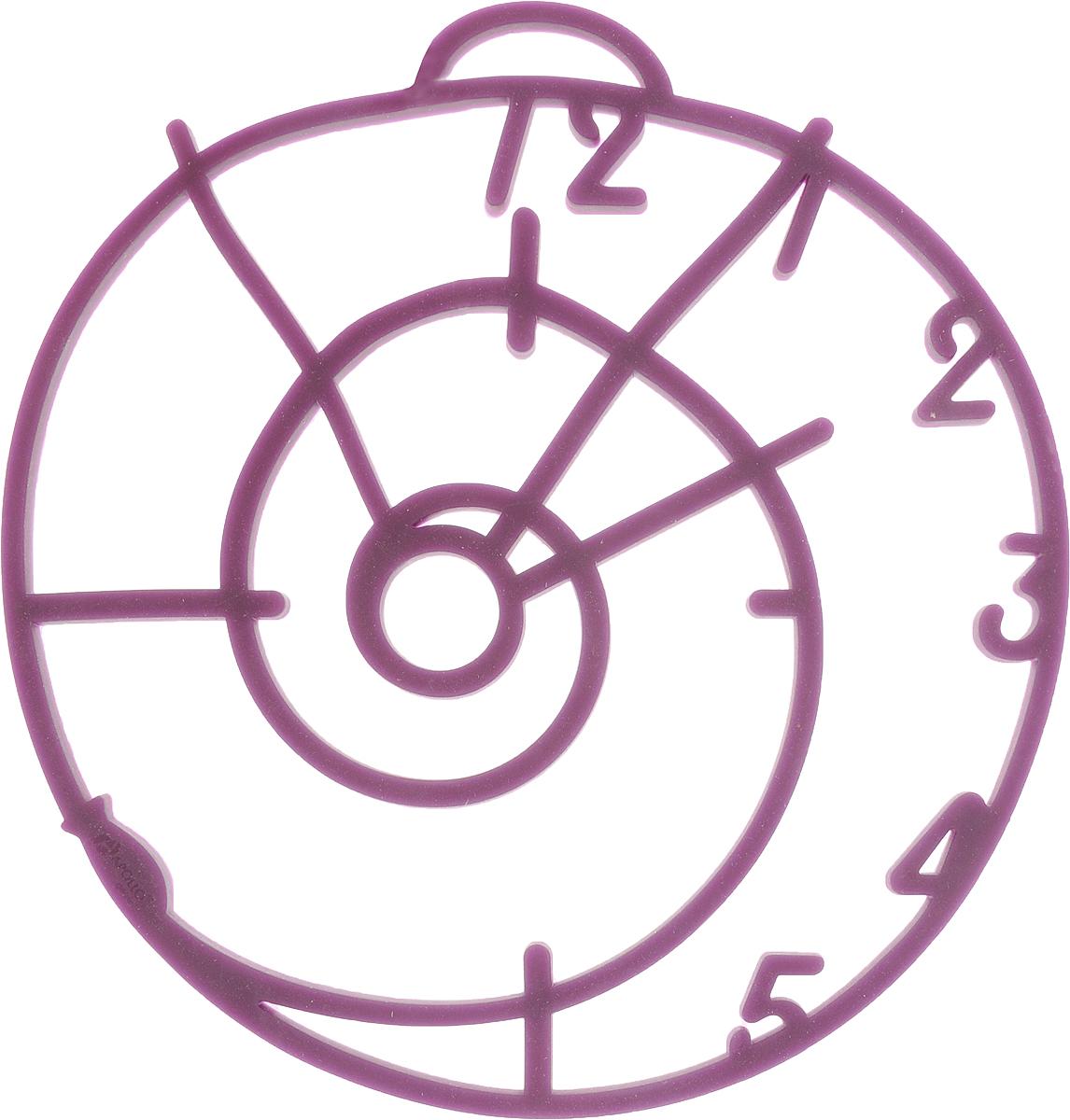 Подставка под горячее Apollo Genio Five minutes, цвет: фиолетовый, 17,6 х 19 х 0,5 смFVM-01_фиолетовыйПодставка под горячее Apollo Genio Five minutes изготовлена из силикона, современного икомфортного материала, который приятен на ощупь и легко моется. Изделие предназначено длязащиты кухонных поверхностей от высокой температуры. Подставка прекрасно подойдет длясамых различных кастрюль, тарелок, сковородок и форм для выпечки.Преимущества подставки:- температурный диапазон использования: от - 40 °С до + 240 °С,- невозможно разбить,- не деформируется при хранении в свернутом виде,- долгосохраняет свой первоначальный вид,- не выделяет вредных веществ при нагревании илиохлаждении,- не впитывает запахи, не скользит.Уход:- рекомендуется ручная мойка,- не использовать при мытье абразивные моющиесредства,- не ставить изделие на открытый огонь или разогретую электрическую конфорку.Размеры: 17,6 х 19 х 0,5 см.